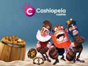 Cashiopeia jackpoty